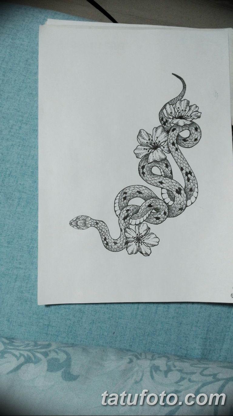 эскизы тату змей для девушек 08.03.2019 №005 - tattoo sketches - tatufoto.com