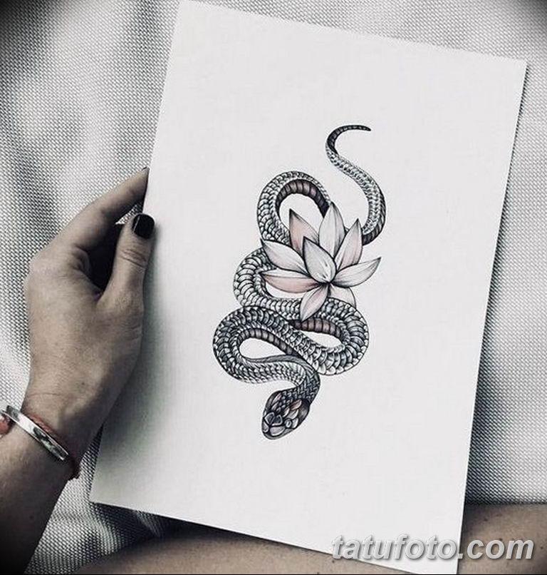 эскизы тату змей для девушек 08.03.2019 №010 - tattoo sketches - tatufoto.com