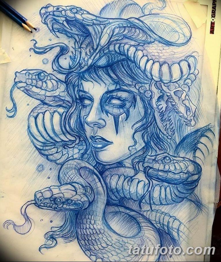 эскизы тату змей для девушек 08.03.2019 №012 - tattoo sketches - tatufoto.com