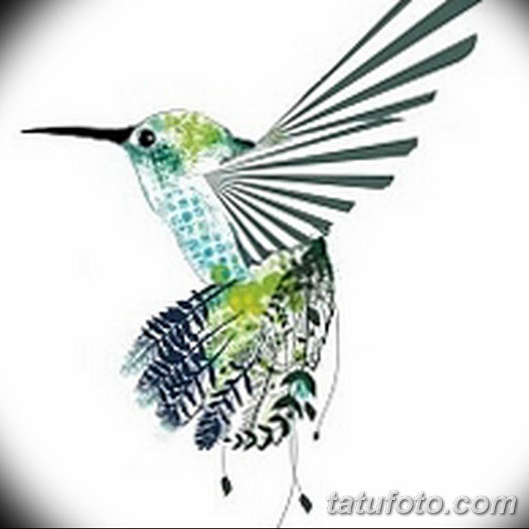эскизы тату колибри для девушек 08.03.2019 №013 - tattoo sketches - tatufoto.com
