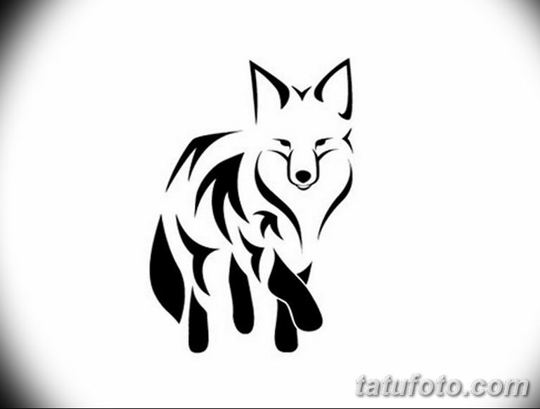 эскизы тату лисы для девушек 08.03.2019 №021 - tattoo sketches - tatufoto.com