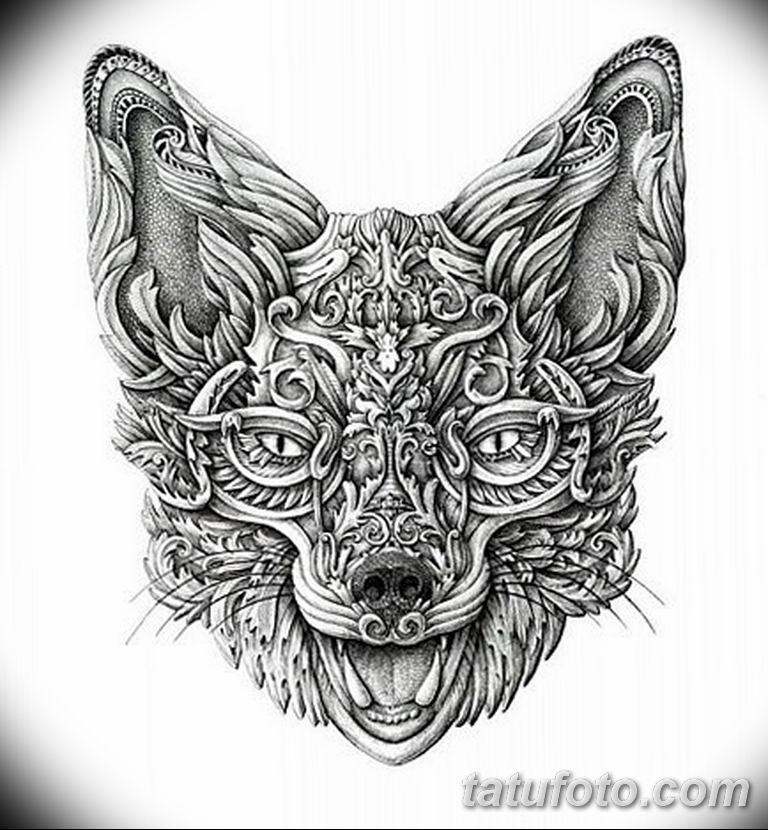 эскизы тату лисы для девушек 08.03.2019 №035 - tattoo sketches - tatufoto.com