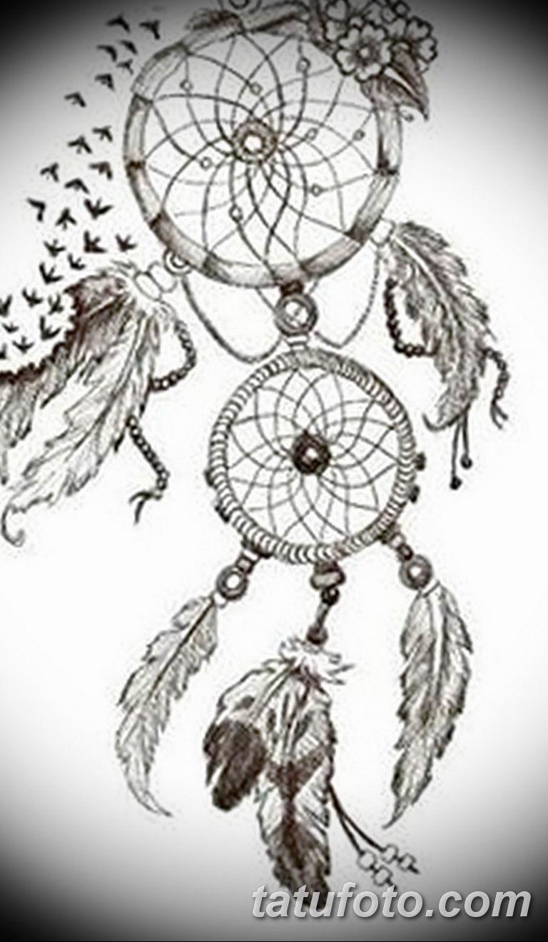 эскизы тату ловец снов для девушек 08.03.2019 №002 - tattoo sketches - tatufoto.com