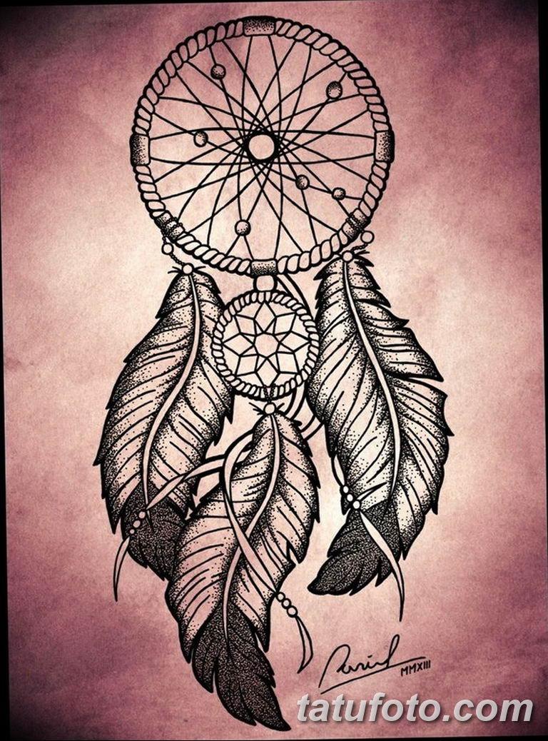 эскизы тату ловец снов для девушек 08.03.2019 №009 - tattoo sketches - tatufoto.com