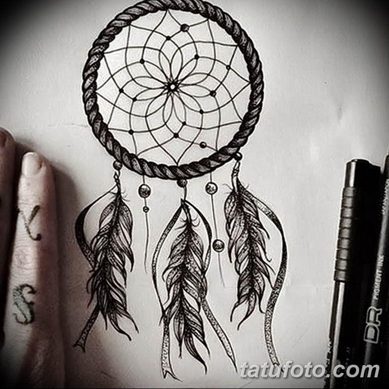 эскизы тату ловец снов для девушек 08.03.2019 №011 - tattoo sketches - tatufoto.com