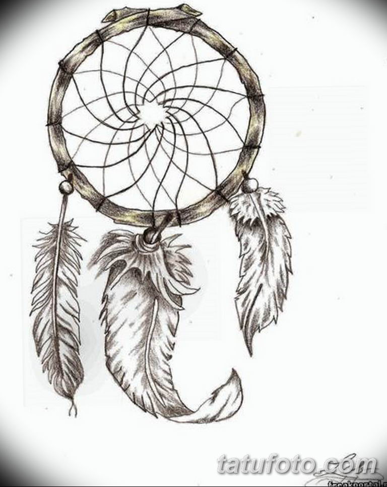 эскизы тату ловец снов для девушек 08.03.2019 №023 - tattoo sketches - tatufoto.com