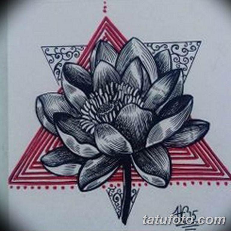 эскизы тату лотоса для девушек 08.03.2019 №021 - tattoo sketches - tatufoto.com