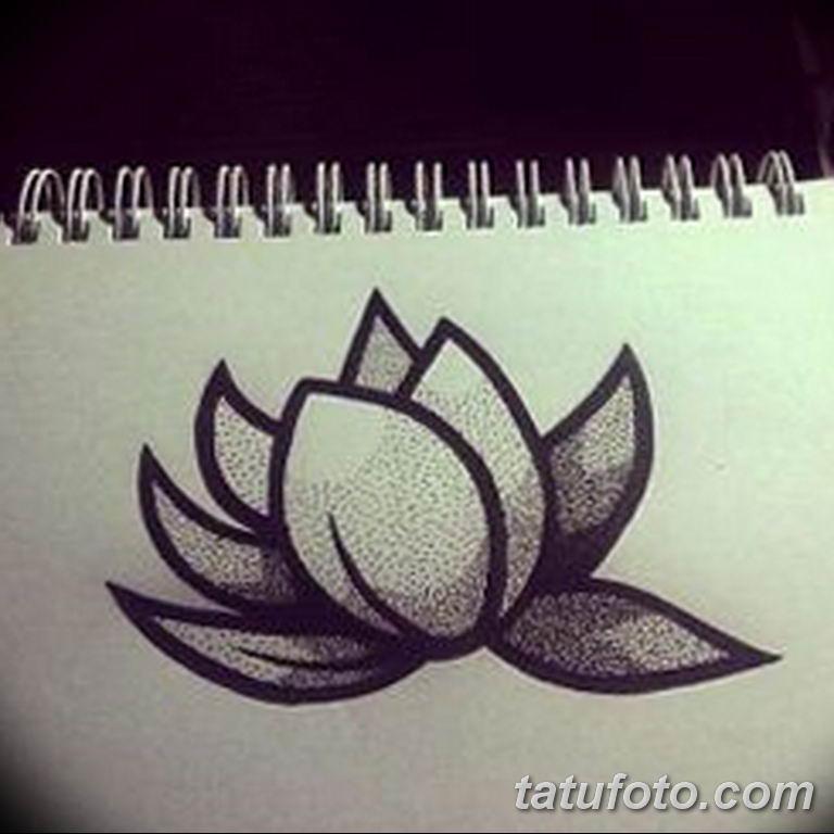 эскизы тату лотоса для девушек 08.03.2019 №025 - tattoo sketches - tatufoto.com