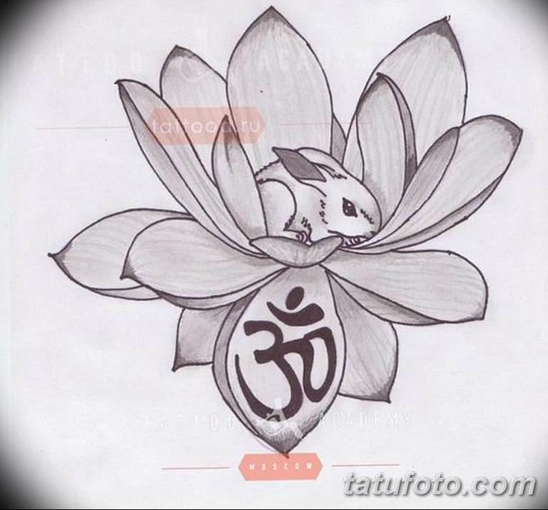 эскизы тату лотоса для девушек 08.03.2019 №028 - tattoo sketches - tatufoto.com