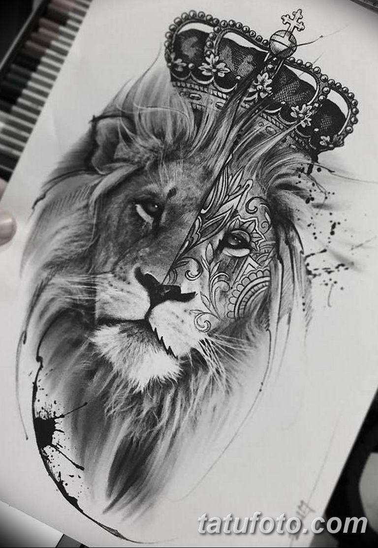 эскизы тату львов для девушек 08.03.2019 №010 - tattoo sketches - tatufoto.com