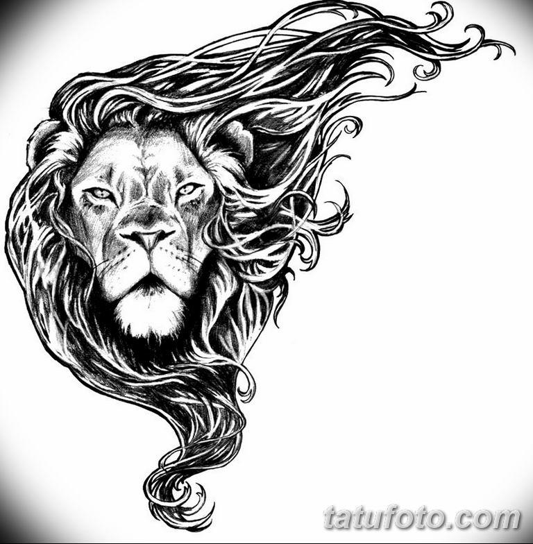 эскизы тату львов для девушек 08.03.2019 №011 - tattoo sketches - tatufoto.com