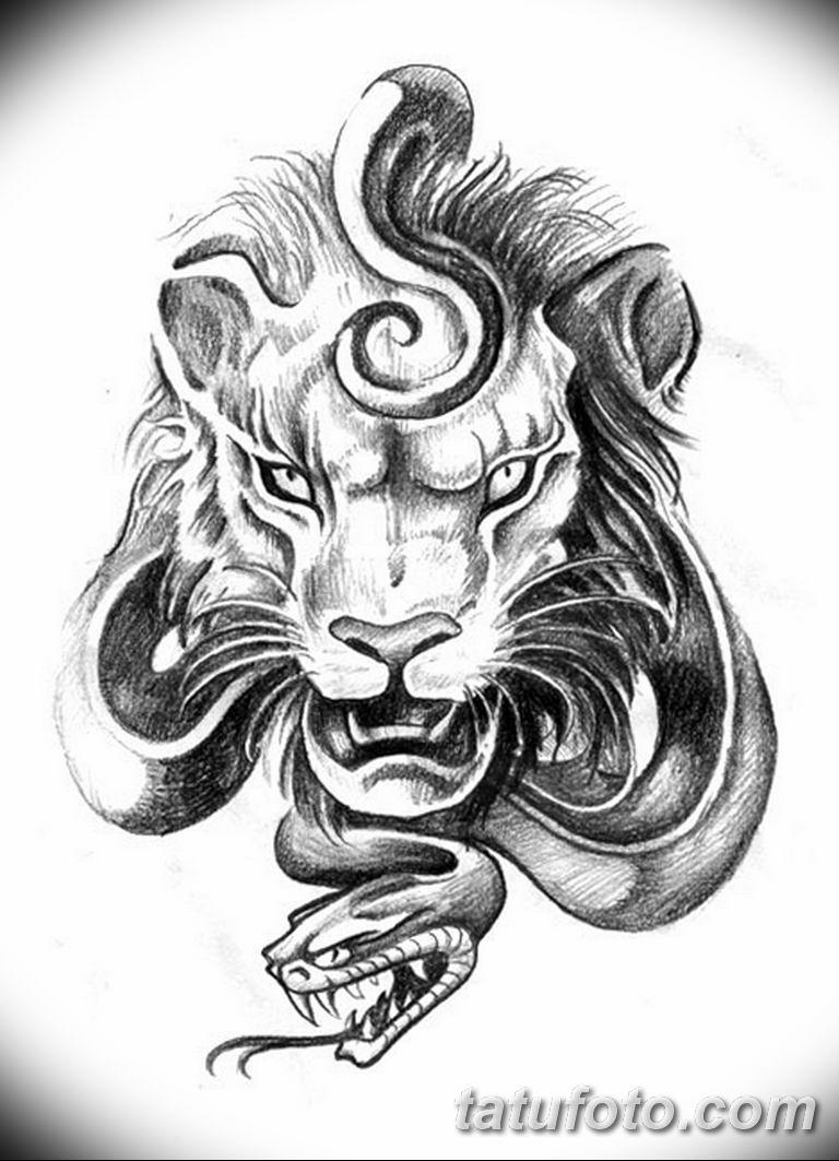 эскизы тату львов для девушек 08.03.2019 №016 - tattoo sketches - tatufoto.com