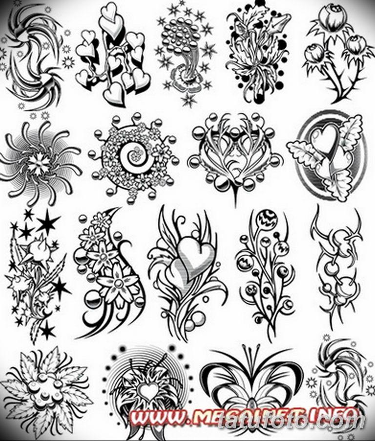 эскизы тату на шею для девушек 08.03.2019 №002 - tattoo sketches - tatufoto.com