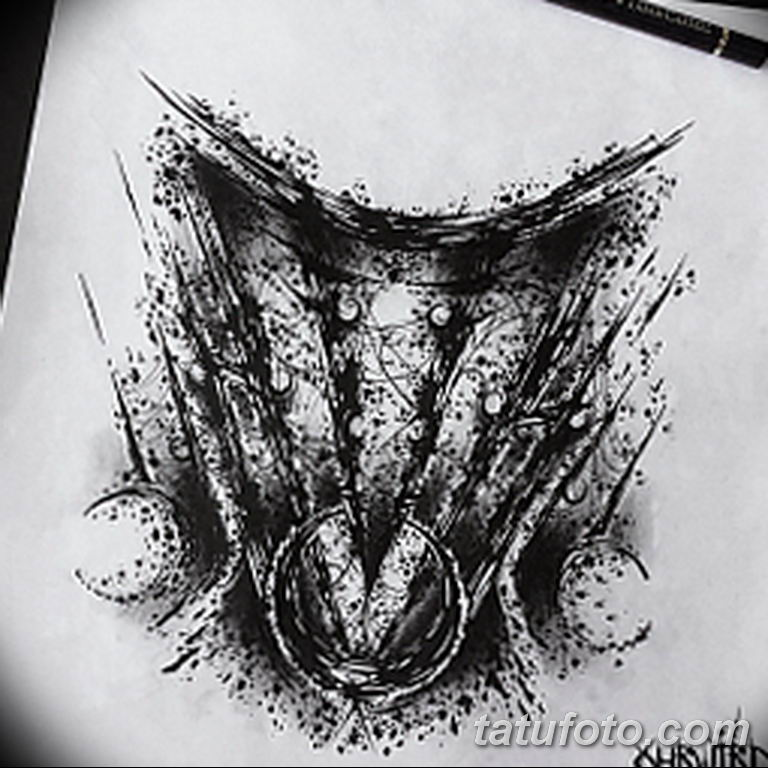 эскизы тату на шею для девушек 08.03.2019 №004 - tattoo sketches - tatufoto.com
