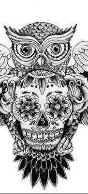 эскизы тату сова мужские 09.03.2019 №015 – tattoo sketches – tatufoto.com