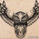 эскизы тату сова мужские 09.03.2019 №044 - tattoo sketches - tatufoto.com