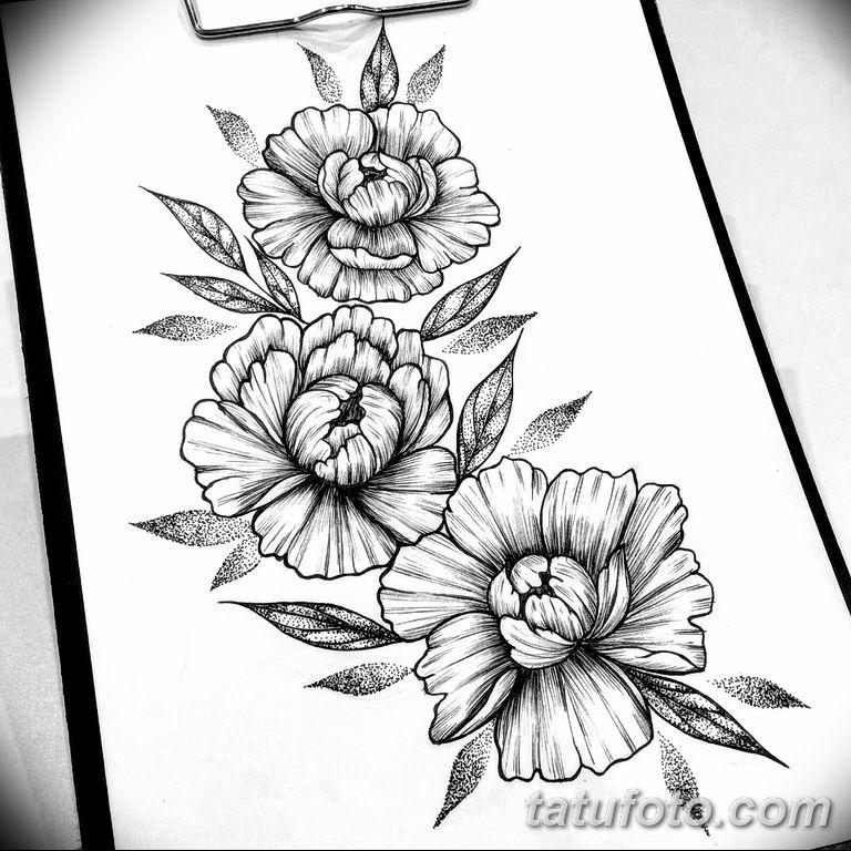 эскиз тату для девушки 08.03.2019 №011 - tattoo sketches for girls - tatufoto.com
