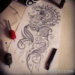 эскиз тату для девушки 08.03.2019 №016 - tattoo sketches for girls - tatufoto.com