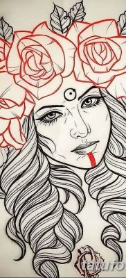 эскиз тату для девушки 08.03.2019 №017 – tattoo sketches for girls – tatufoto.com