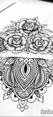 эскиз тату для девушки 08.03.2019 №018 – tattoo sketches for girls – tatufoto.com