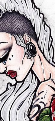 эскиз тату для девушки 08.03.2019 №027 – tattoo sketches for girls – tatufoto.com