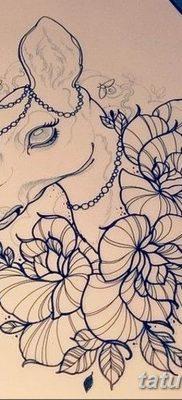 эскиз тату для девушки 08.03.2019 №037 – tattoo sketches for girls – tatufoto.com