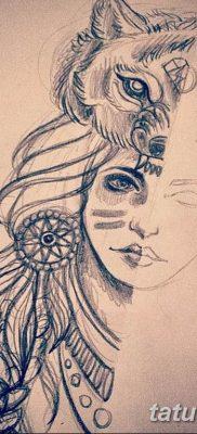 эскиз тату для девушки 08.03.2019 №042 – tattoo sketches for girls – tatufoto.com