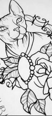 эскиз тату для девушки 08.03.2019 №057 – tattoo sketches for girls – tatufoto.com