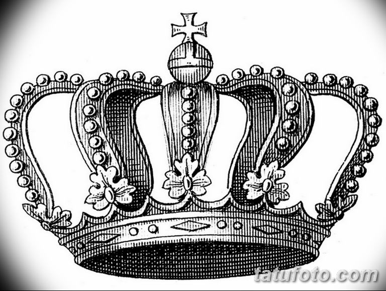 эскиз тату корона для девушек 08.03.2019 №002 - tattoo sketches - tatufoto.com