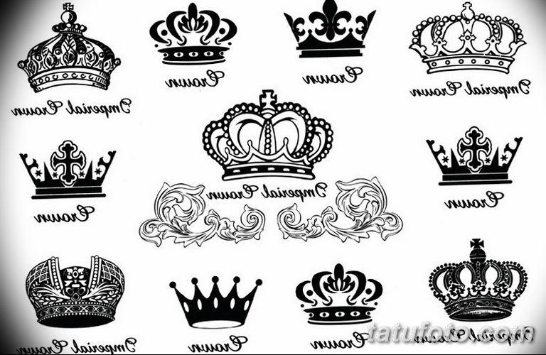 эскиз тату корона для девушек 08.03.2019 №005 - tattoo sketches - tatufoto.com