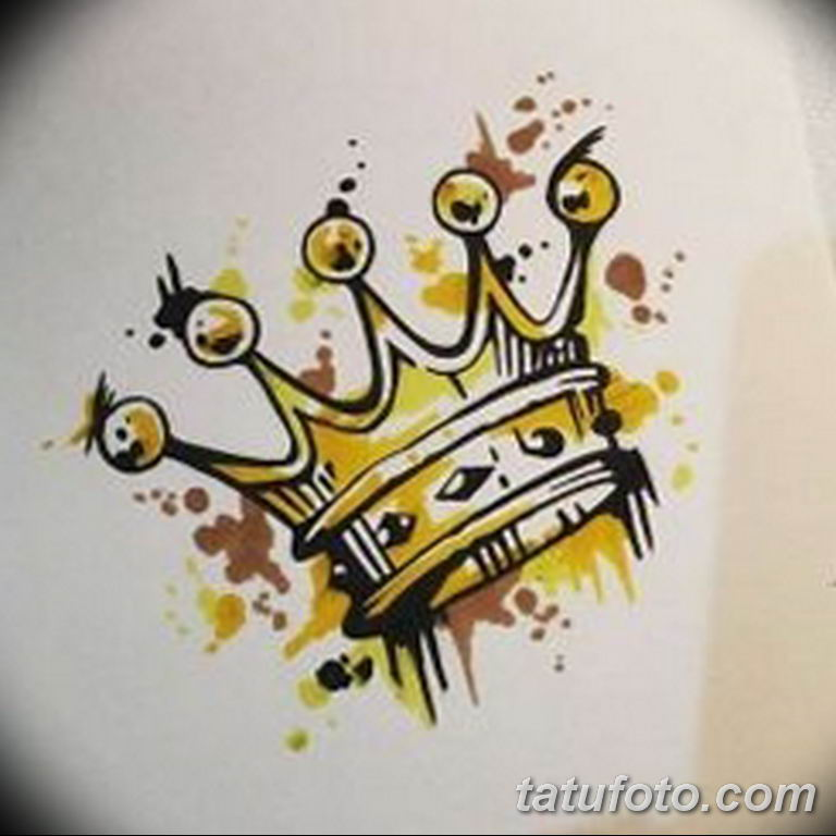 эскиз тату корона для девушек 08.03.2019 №020 - tattoo sketches - tatufoto.com