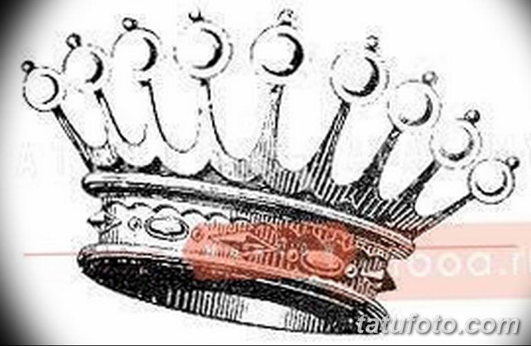 эскиз тату корона для девушек 08.03.2019 №022 - tattoo sketches - tatufoto.com