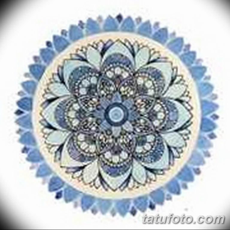 эскиз тату мандала для девушек 08.03.2019 №013 - tattoo sketches - tatufoto.com
