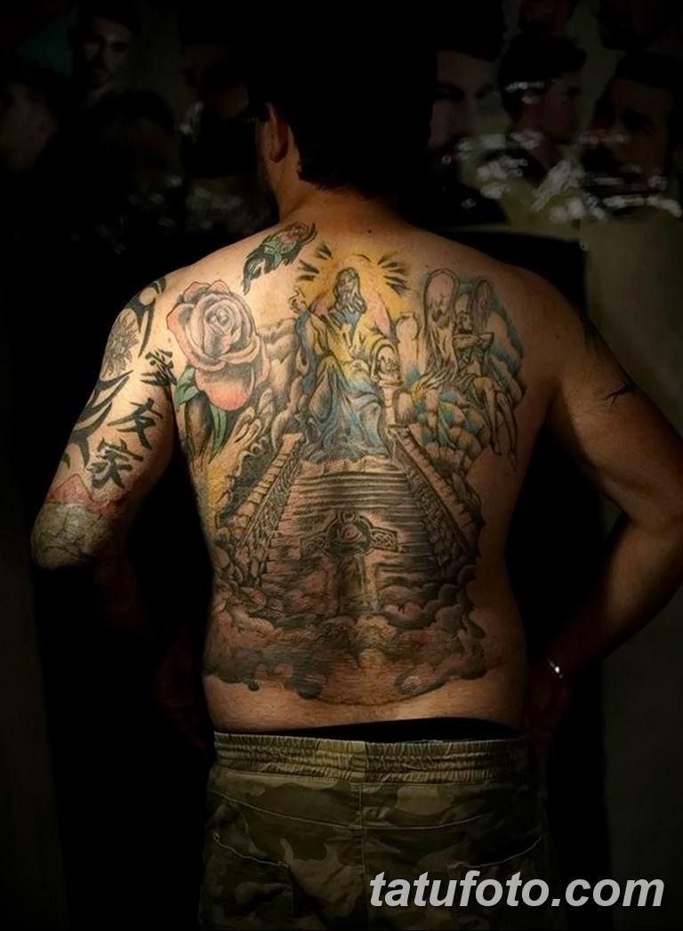 Иракские военнослужащие наносят татуировки чтобы скрыть шрамы полученные на войне - фото 2