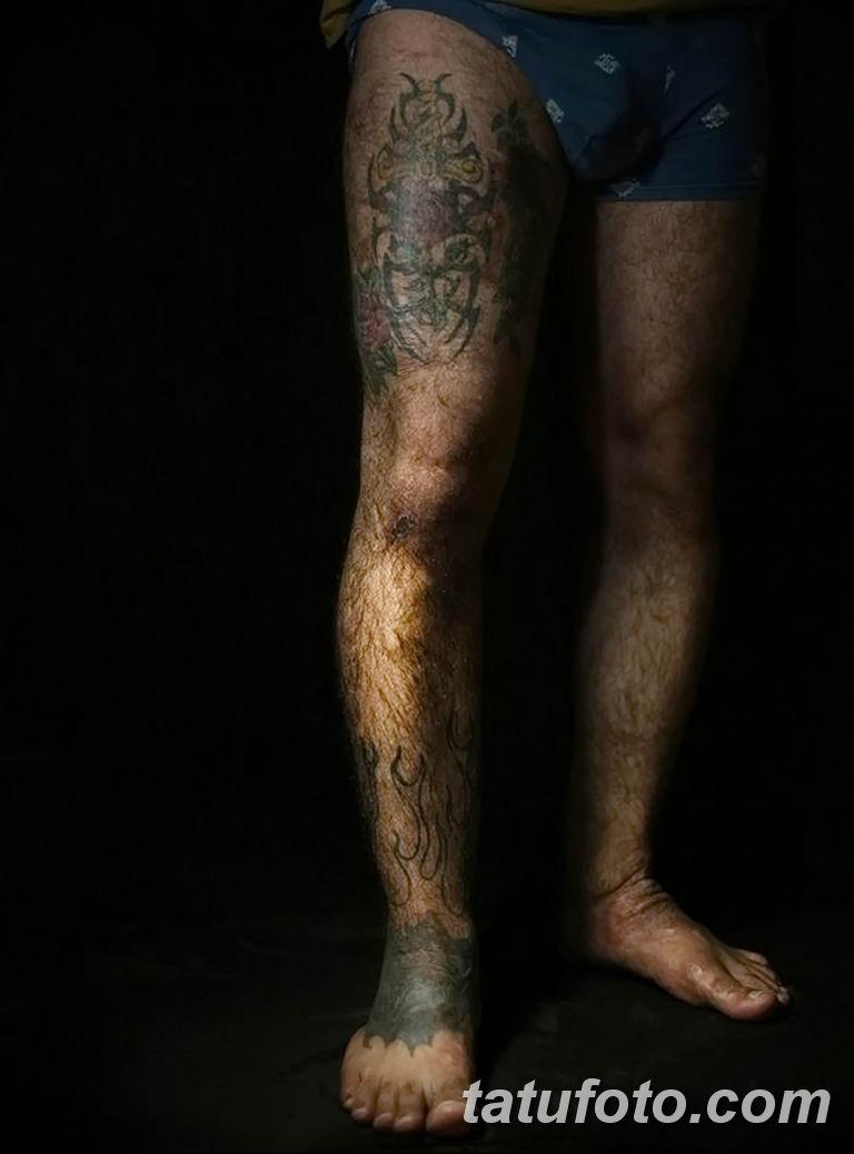 Иракские военнослужащие наносят татуировки чтобы скрыть шрамы полученные на войне - фото 4