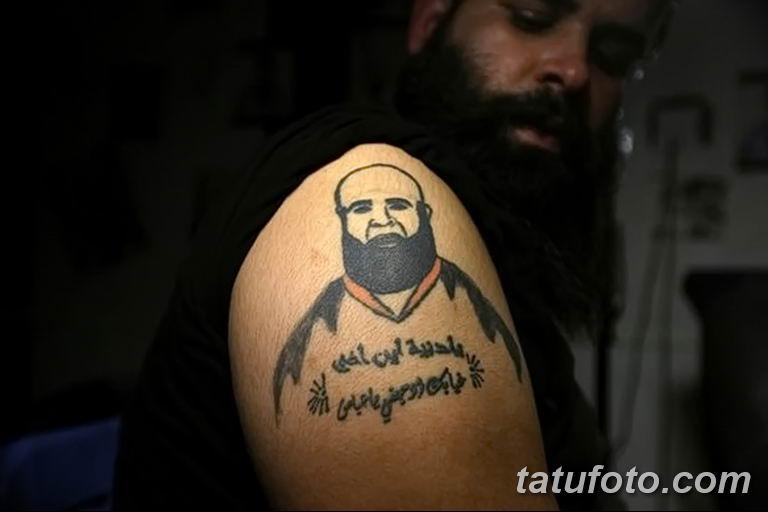 Иракские военнослужащие наносят татуировки чтобы скрыть шрамы полученные на войне - фото 5