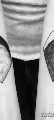 Фото тату черный ворон 15.04.2019 №092 – ideas black raven tattoo – tatufoto.com