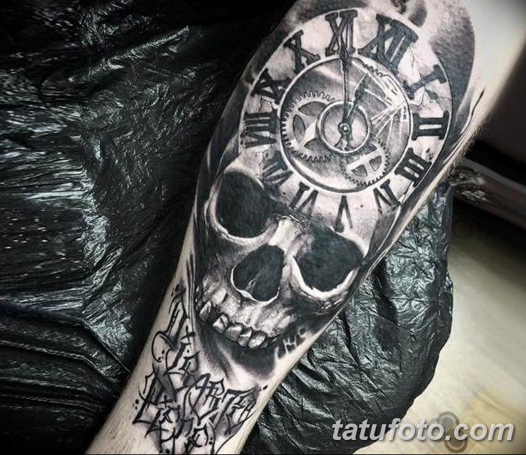 Фото ттату время (часы) 16.04.2019 №019 - tattoo time (hours) - tatufoto.com
