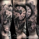 Фото ттату время (часы) 16.04.2019 №031 - tattoo time (hours) - tatufoto.com