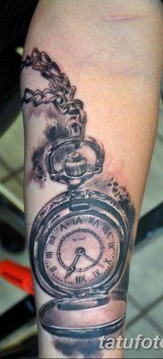 Фото ттату время (часы) 16.04.2019 №063 – tattoo time (hours) – tatufoto.com