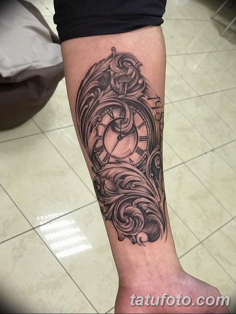 Фото ттату время (часы) 16.04.2019 №068 - tattoo time (hours) - tatufoto.com