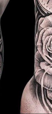 Фото ттату время (часы) 16.04.2019 №078 – tattoo time (hours) – tatufoto.com