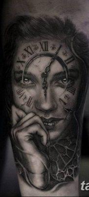 Фото ттату время (часы) 16.04.2019 №082 – tattoo time (hours) – tatufoto.com