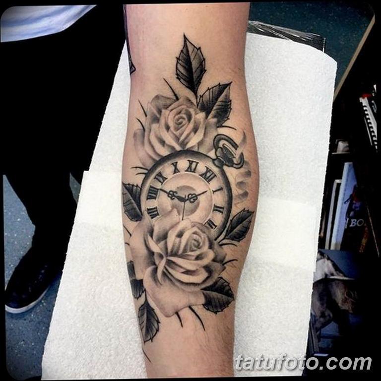 Фото ттату время (часы) 16.04.2019 №126 - tattoo time (hours) - tatufoto.com