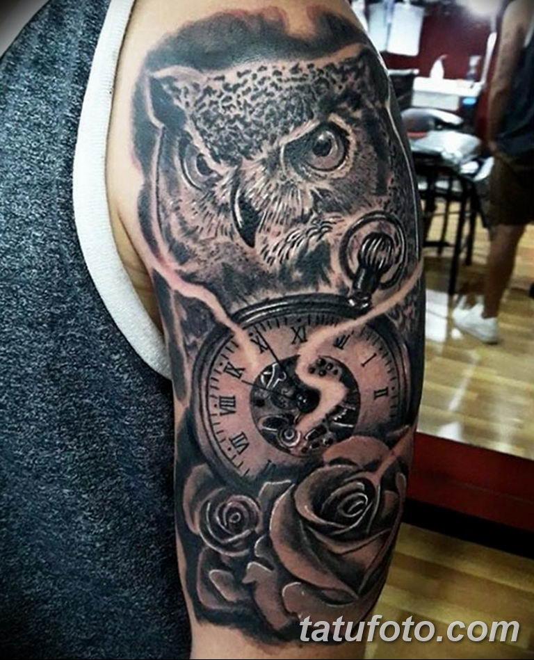 Фото ттату время (часы) 16.04.2019 №144 - tattoo time (hours) - tatufoto.com