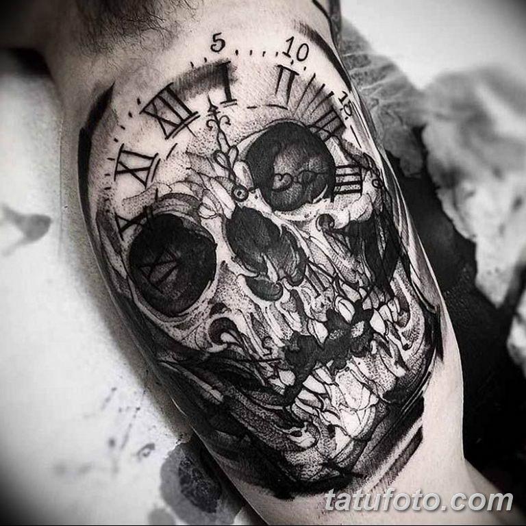 Фото ттату время (часы) 16.04.2019 №153 - tattoo time (hours) - tatufoto.com