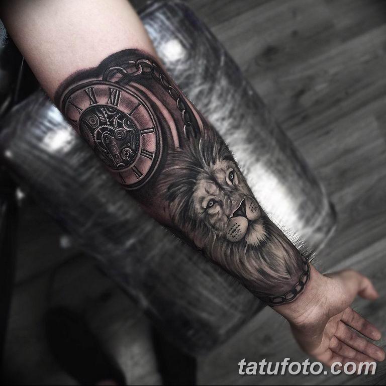 Фото ттату время (часы) 16.04.2019 №162 - tattoo time (hours) - tatufoto.com