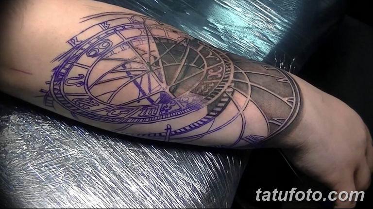 Фото ттату время (часы) 16.04.2019 №175 - tattoo time (hours) - tatufoto.com