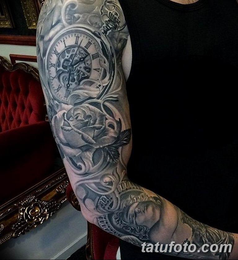 Фото ттату время (часы) 16.04.2019 №181 - tattoo time (hours) - tatufoto.com