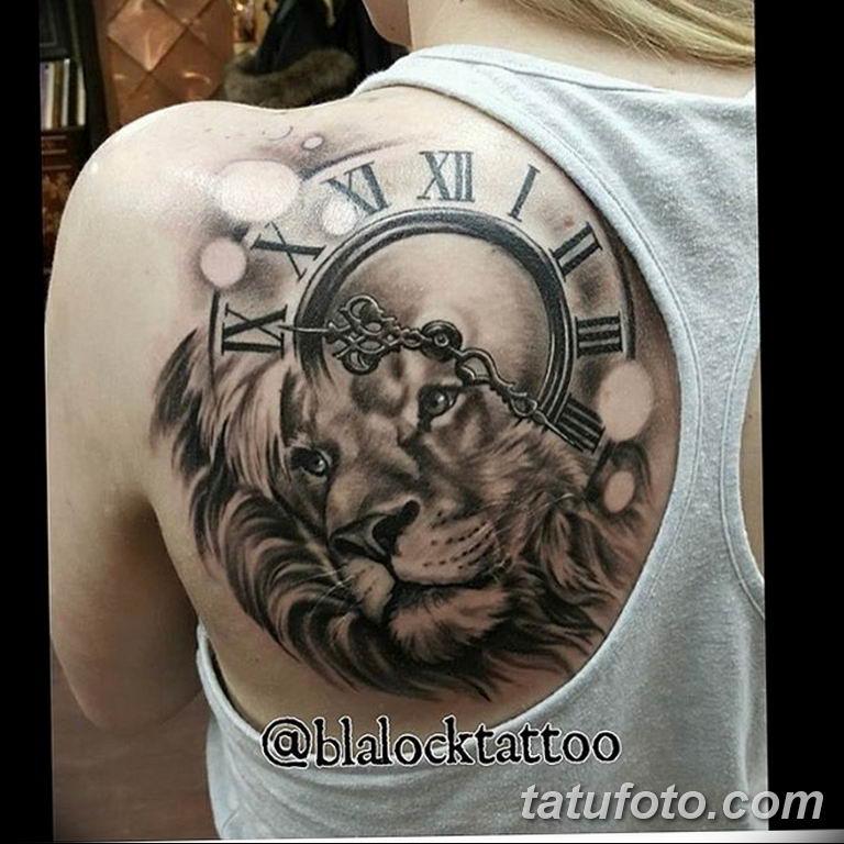 Фото ттату время (часы) 16.04.2019 №187 - tattoo time (hours) - tatufoto.com